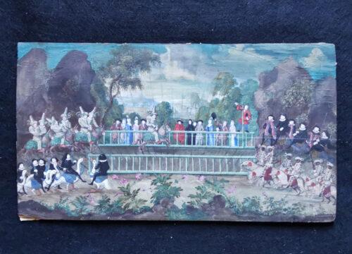 eventail-Louis-XIV-Commedia-dell-arte