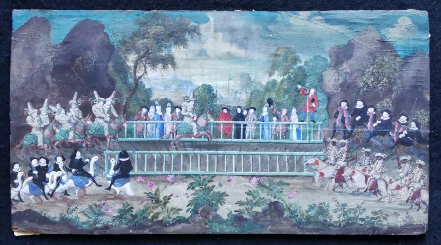 eventail-Louis-XIV-Commedia-dell-arte-
