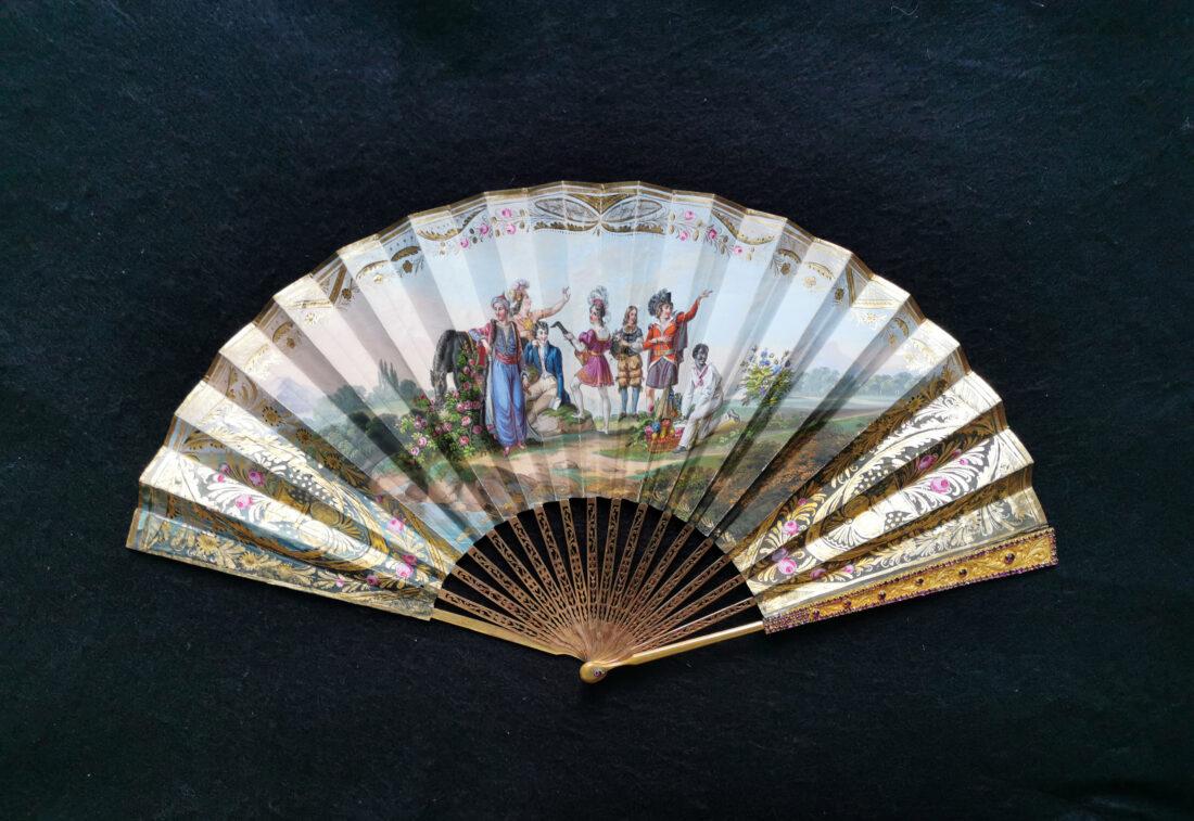 eventail-fan-ventaglio-romantique